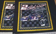 "Vintage 2002 NASCAR Rusty Wallace #2 Miller Lite Springs Industries 16"" Panels"