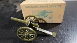 Britains BOXED Metal Royal Artillery Gun No 1263