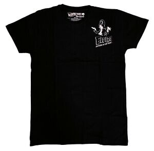 Kreepsville 666 Elvira Gothic Horror Punk Mens Black Pocket Tee T Shirt Size XL