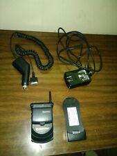 Motorola StarTAC Flip Phone Verizon Wireless & charger tested works