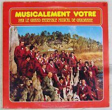 Grand Ensemble Musical de Gardanne 33 tours Musicalement Vôtre