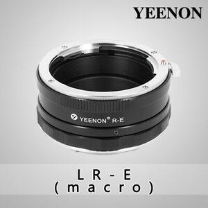 YEENON Leica LR lens to SONY E-MOUNT  body LR-NEX Helicoid Adapter(macro)