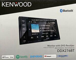 """NEW Kenwood DDX276BT 6.2"""" Touch Screen, 2-DIN, CD/DVD w/ Bluetooth"""