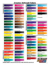 Createx Airbrush Colors 2oz Water Based Airbrush Paint Choose Your Color