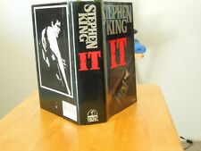"STEPHEN KING "" IT "" A  NICE CLEAN BOOK AND DUST COVER"