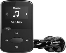 SanDisk 8Gb Clip Jam Mp3 Player Black Sdmx26-008G-G46K (With Accessories!)