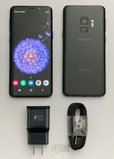 NEW SAMSUNG GALAXY S9 G960U (UNLOCKED) GSM 64GB T-MOBILE AT&T - MIDNIGHT BLACK