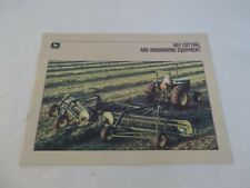 John Deere Hay Cutting and Windrowing Equipment Brochure