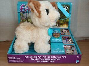 "Fur Real Friends... Hasbro... Pax, mein ""ich-muss-mal""-Hündchen NEU"