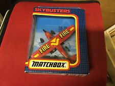 MATCHBOX SKYBUSTERS SB-26 CESSNA 210 FLOAT PLANE - FIRE