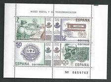 Sellos de España - 1981 Museo Postal & de telecomunicaciones Hoja De Madrid