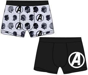 Mens Marvel Avengers Boxers Underwear