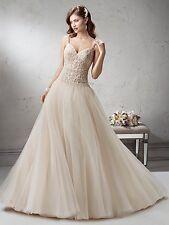 Sottero & Midgley Wedding DRess FONTAINE Brand New size 12 Ivory
