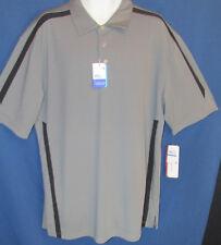 Grand Slam Men's 4XB gray Polo Shirt Air Flow Driflow Sun Protect 15UPF  New Tag