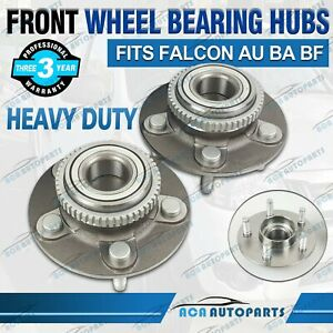 2x Front Wheel Bearing Hub Assembly for Ford Falcon AU BA BF Fairmont Territory