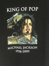 MICHAEL JACKSON,  King of Pop,  1958-2009, Tribute, T-Shirt,  XL