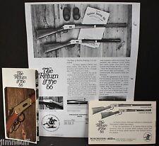 NOS Original Winchester Centennial 66 Brochure, Ballistics Guide &  Price List