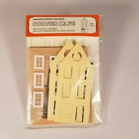 Vintage Masterplan Model Buildings 'Corner Cafe' in HO/OO Scale New/Old Stock