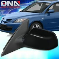 FOR 2006-2009 KIA RIO 5 OE STYLE MANUAL LEFT SIDE MIRROR BLUE GLASS 876101G030