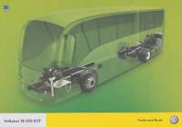 VW Volksbus 18-320 EOT Bus Prospekt 2008 8/08 GB brochure prospectus Omnibus car