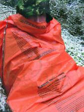 EMERGENCY SLEEPING BAG HI VIS TENT BIVI BASHA MOUNTAIN SURVIVAL HIKE RESCUE SOS