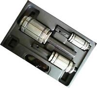Automotive Exhaust Pipe Expander Set - 3 Pc - in Plastic Case with Spare Seals