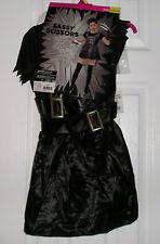 Halloween Costume Girls Size L 10-12, Sassy Scissors Dress, Edward Scissor Hands
