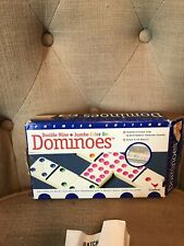Dominoes - Double Nine Jumbo Color Dots by Cardinal - Good Condition