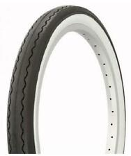 "2X DURO 20"" BMX Dragster Bike Tyre -  20"" x 2.125"" - White Wall - Retro Vintage"