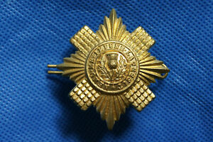 Military Army Cap Badge with Lugs - Scots Guards / Scottish Regiment