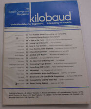 Kilobaud Microcomputing Magazine A Tour Of The Faire July 1978 112014R