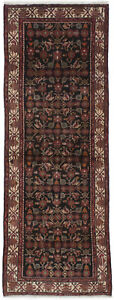 Semi Antique Tribal Design 4X10 Wool Oriental Runner Rug Hallway Decor Carpet