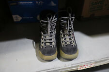 Vision Gray Winter Snowboard Boots Lace Up Size 8
