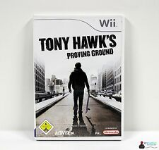 Nintendo WII Gioco-Tony Hawks Proving Ground-completamente in guscio OVP