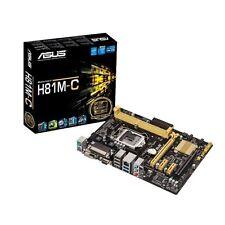 Asus H81M-C/CSM ATX DDR3 1333 LGA 1150 Motherboard - New