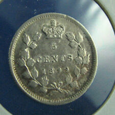 Canada 1899 5 cents about AU