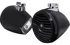 "Rockford Fosgate RM1652W-MB 300W 6.5"" Marine Mini Wakeboard Tower Speakers Black"