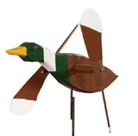 MALLARD DUCK WIND SPINNER - Amish Whirlybird Weather Resistant Whirligig USA