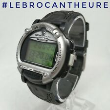 RARE Montre Vintage Timex Triathlon Ironman Data Likk Circa 1996