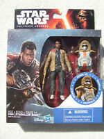 STAR WARS THE FORCE AWAKENS 3.75 INCH ARMOR UP FINN ( STARKILLER BASE ) FIG MIP!