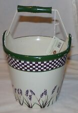 Boyds Home The Collection Ltd Ceramic Bucket Lavender Fields Decorative Large