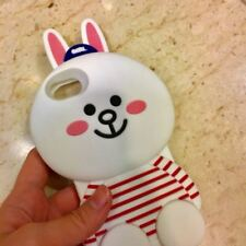 iphone 6 line bunny silicon phone case