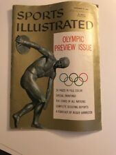 November 19, 1956 Olympic Preview Issue Sports Illustrated 1 (B)