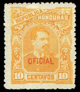 Scott # O15 - 1891 - ' President Luis Bogran '