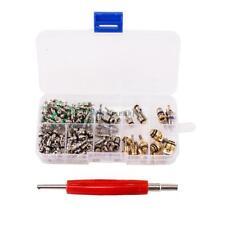 135pcs Assortment A/C Shrader Valve Core R134a Tool kit HVAC Air Auto AC Repair