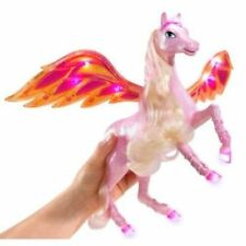 Barbie Doll Diamond Castle Light Up Glimmer Pegasus Horse