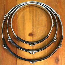 Medium Rim & Stick Guard Rubber Drum Hoop/Rim Protector/Silencer