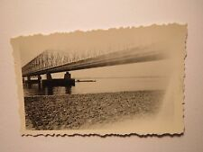 Holland - Hollands Diep bei Moerdijk - Am 18. Juli 1938 - Brücke / Foto