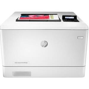 HP LaserJet Pro M454dn Duplex Colour Laser Business Printer W1Y44A AirPrint