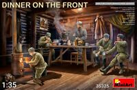 Miniart 35325 - 1/35 Dinner On The Front 5 Figures Plastic Models Kit